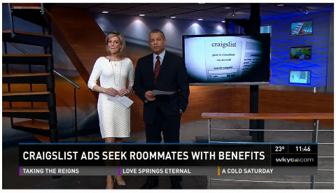 Craigslist ads offering free rent in exchange for sex could lead to trouble